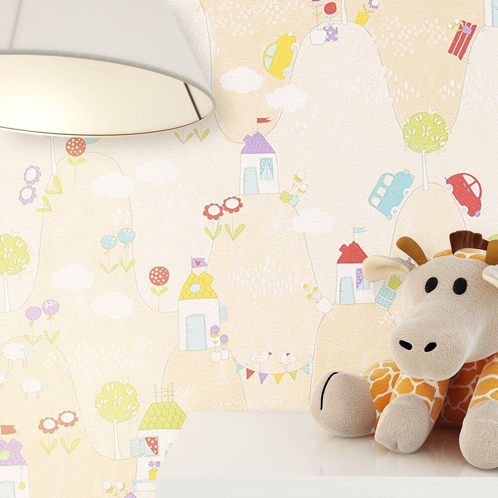 lisirra neutral kinder baby tapeten. Black Bedroom Furniture Sets. Home Design Ideas