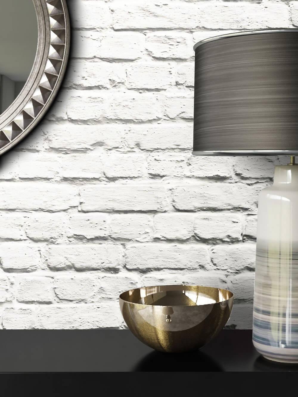 ... Tapete Vlies Deko Stein Mauer Weiß Creme Beige Braun Grau Schwarz ... Design