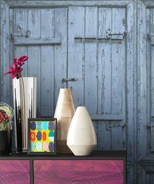 Tapete Holz Optik Landhaus Dekoration