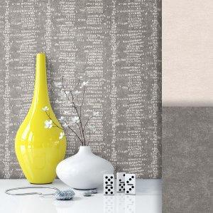 Tapete Vlies Modern Muster Grau