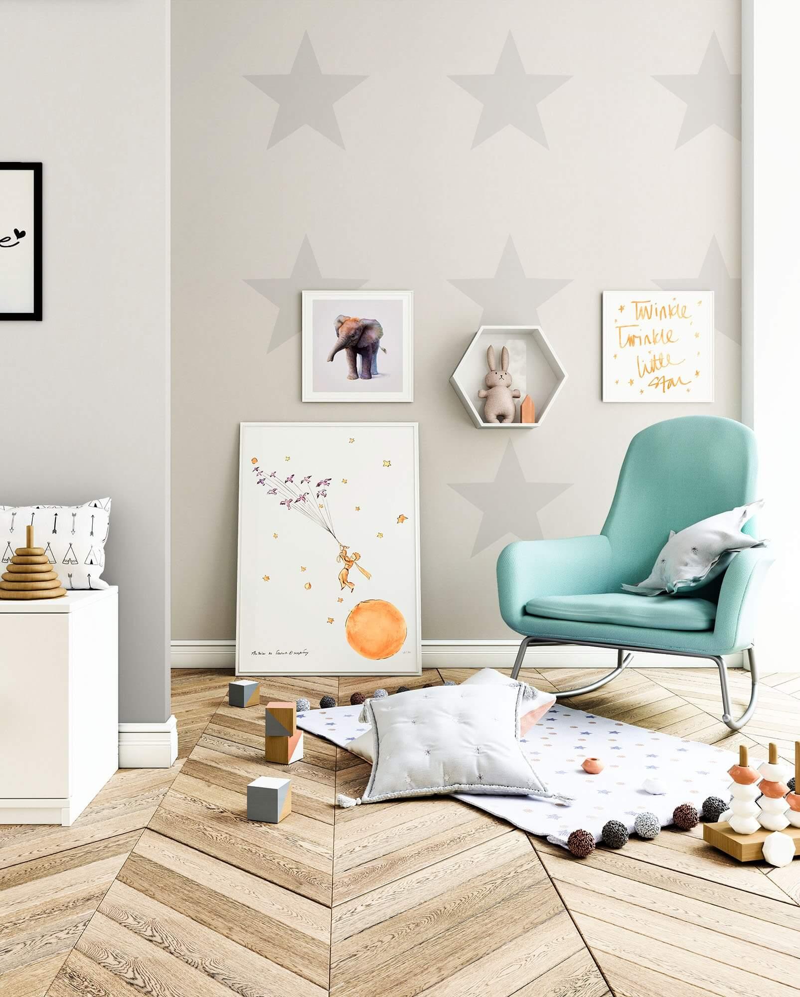 poamond neutral kinder baby tapeten. Black Bedroom Furniture Sets. Home Design Ideas