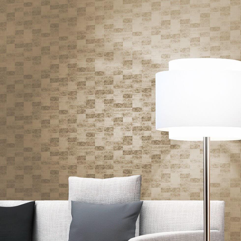 tapete gold glanz wohnzimmer deko - Wohnzimmer Deko Gold