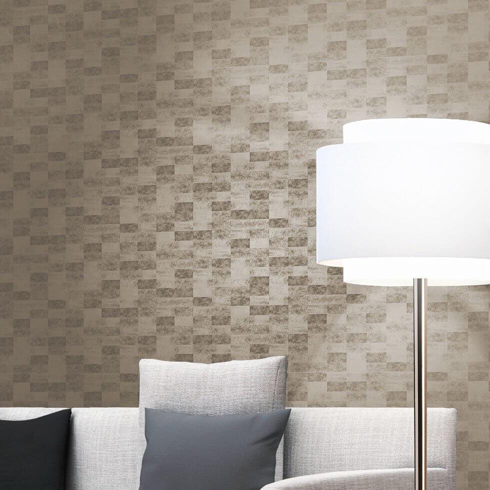 gloss - Wohnzimmer Grau Gold