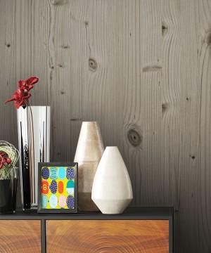 Tapete Holz Optik Dekoration