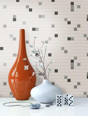 Mosaik, Fliesen Tapete