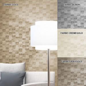 Tapete Gold Glanz Wohnzimmer Deko