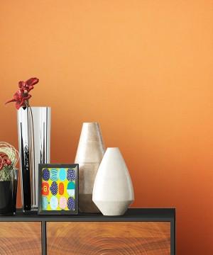 Uni Tapete Orange