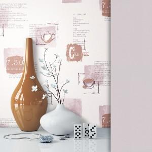 Tapete Vlies Kaffee Tassen Dekoration