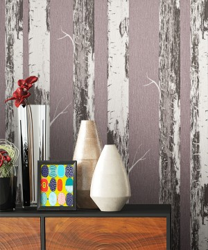 Tapete Holz Baumrinde Optik Dekoration