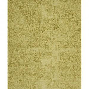 Kasmir Gelb - Ornament Muster