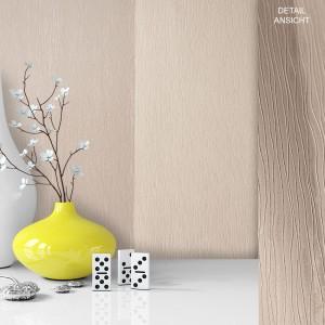 Tapete Vase Deko Vlies Vinyl Weiß Grau