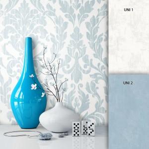 Roco Blau - Muster