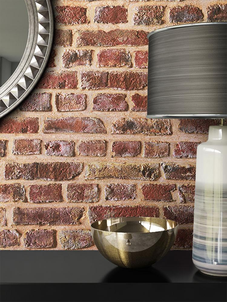 newroom steintapete papiertapete beige mauer stein rustikal braun loft 3d ebay. Black Bedroom Furniture Sets. Home Design Ideas