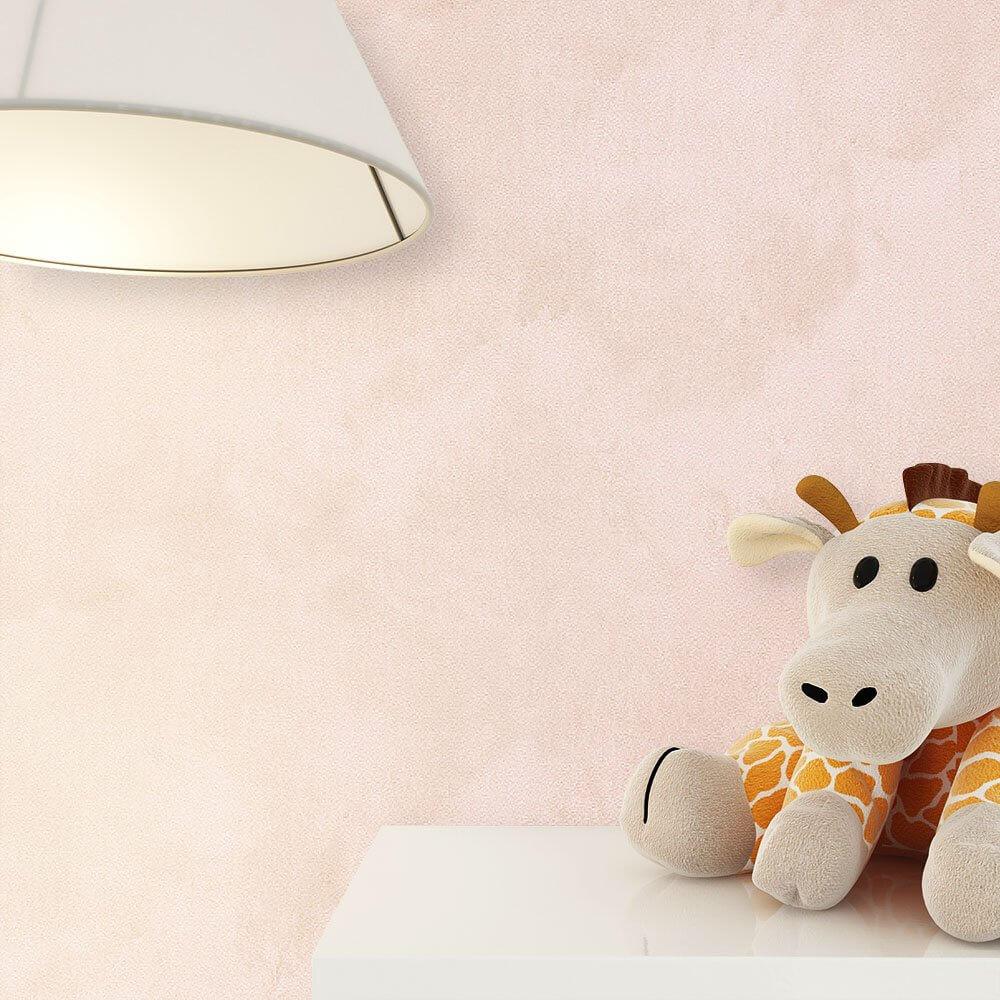 ... Tapete Kinder Kinderzimmer Rosa Beige Deko Streifen