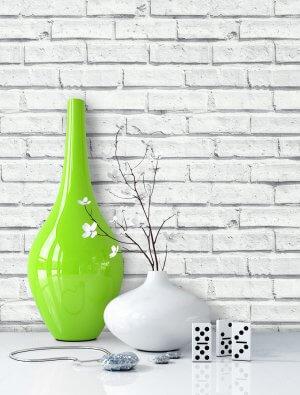 Tapeten Stein Weiß