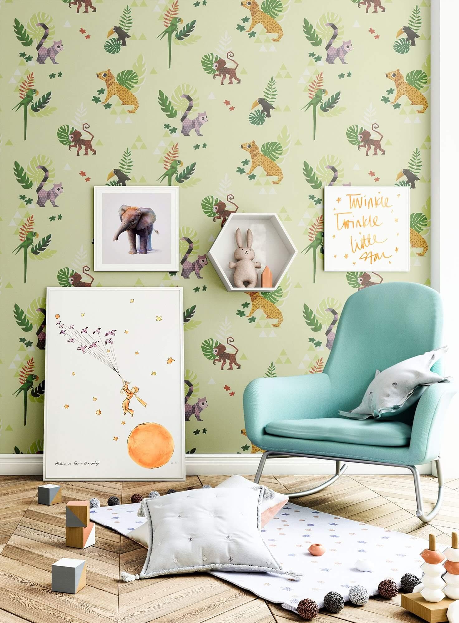 tinydia kinder baby tapeten. Black Bedroom Furniture Sets. Home Design Ideas