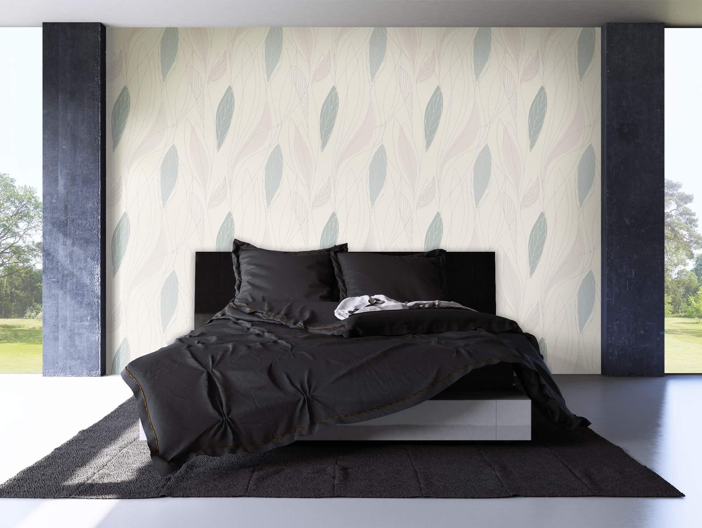 vliestapete wei modern wohnen schlafen k che diele newroom. Black Bedroom Furniture Sets. Home Design Ideas
