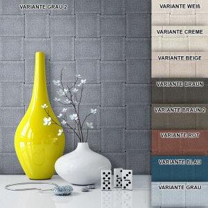 Tapete Vlies Landhaus Grafik Muster Deko Grau