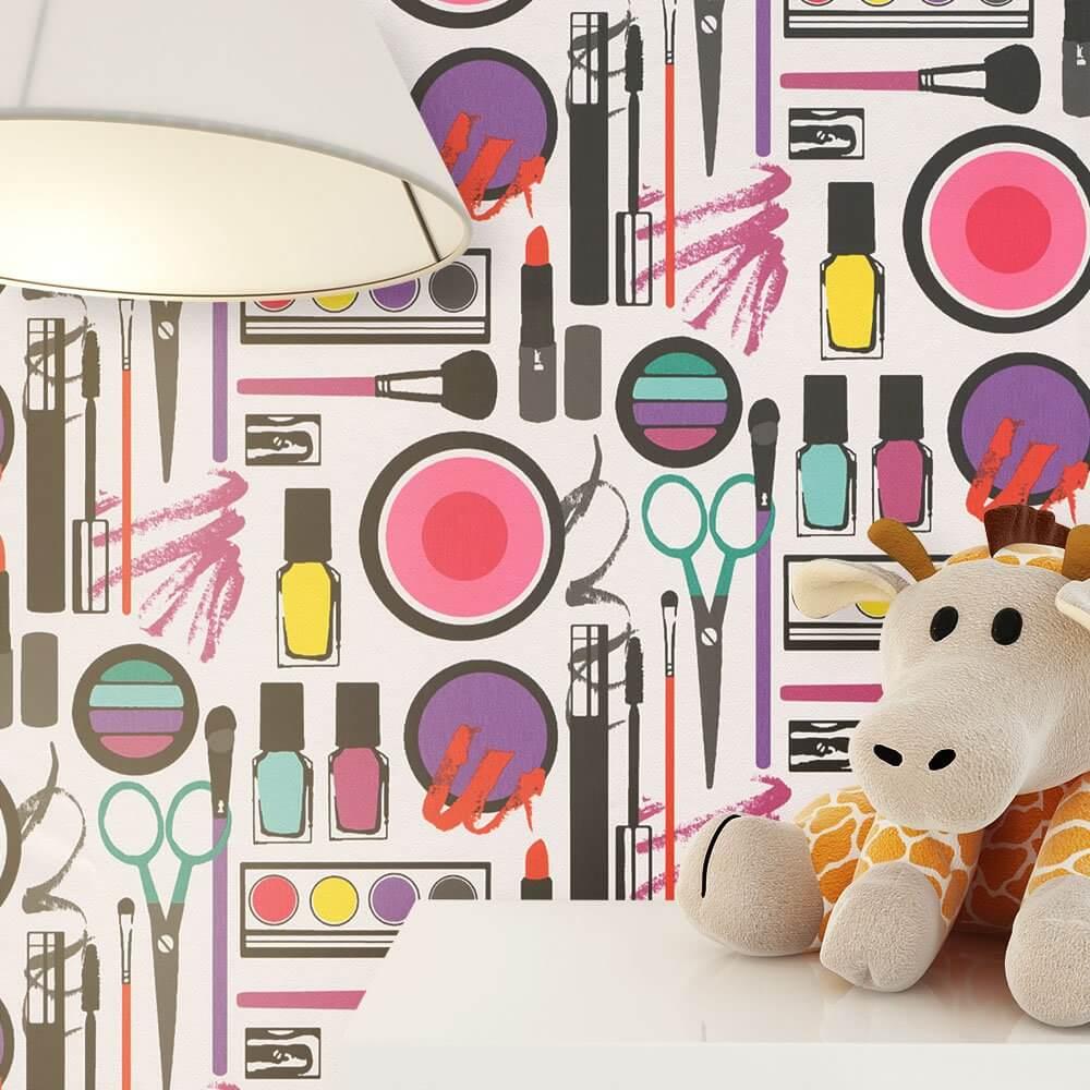 papiertapete rosa kinder kinder newroom. Black Bedroom Furniture Sets. Home Design Ideas