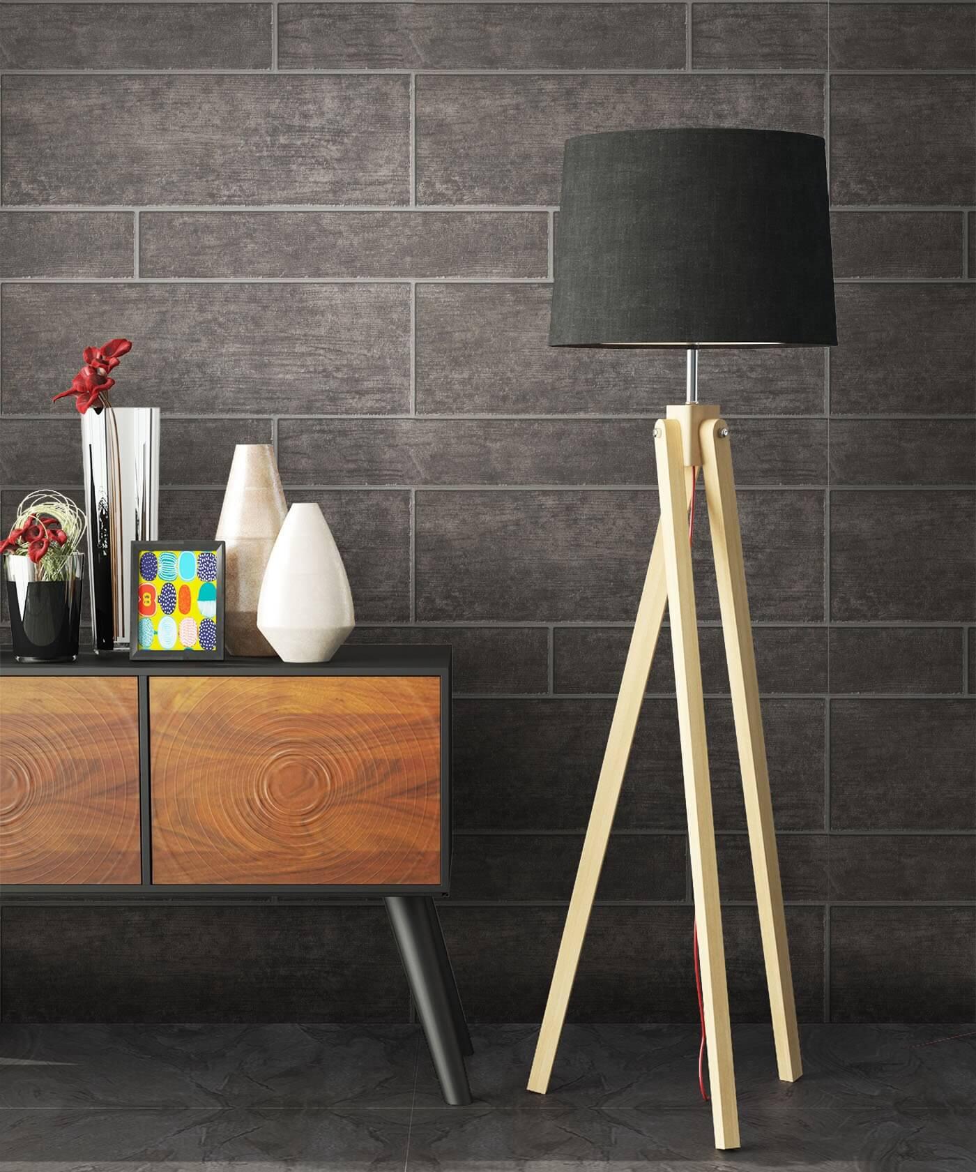 vliestapete anthrazit modern mauer fliesen bad. Black Bedroom Furniture Sets. Home Design Ideas