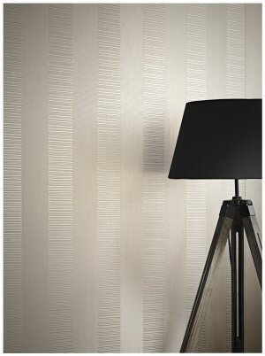 Tapete Vinyl Taupe Gold Creme Stehlampe