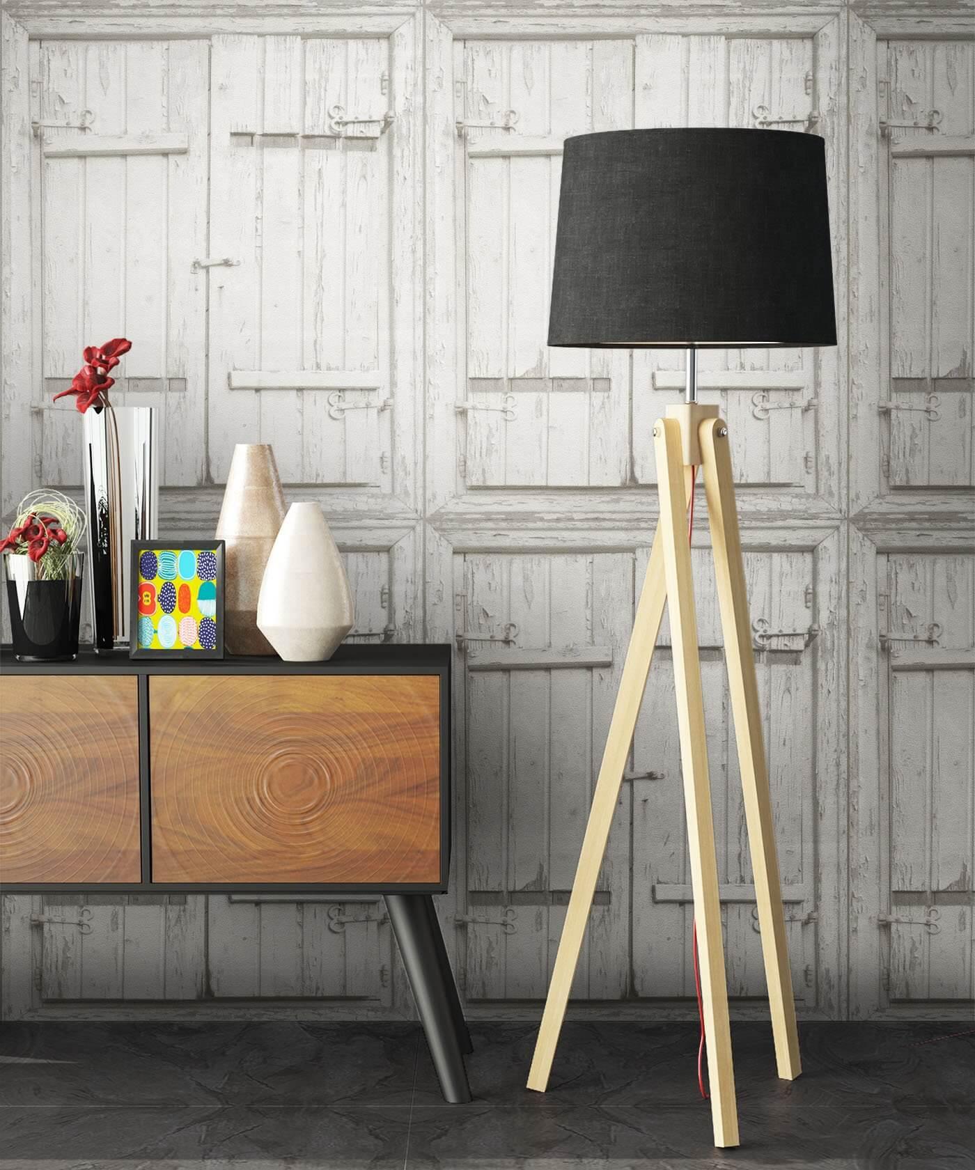 vliestapete wei landhaus holzbalken holz wohnen schlafen k che diele newroom. Black Bedroom Furniture Sets. Home Design Ideas