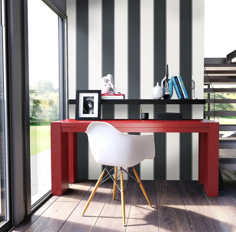 vliestapete schwarz grafik diele flur schlafen. Black Bedroom Furniture Sets. Home Design Ideas