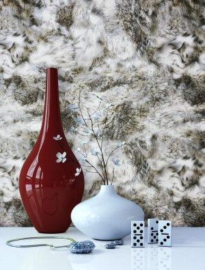 Tapete Fell Vlies Vase