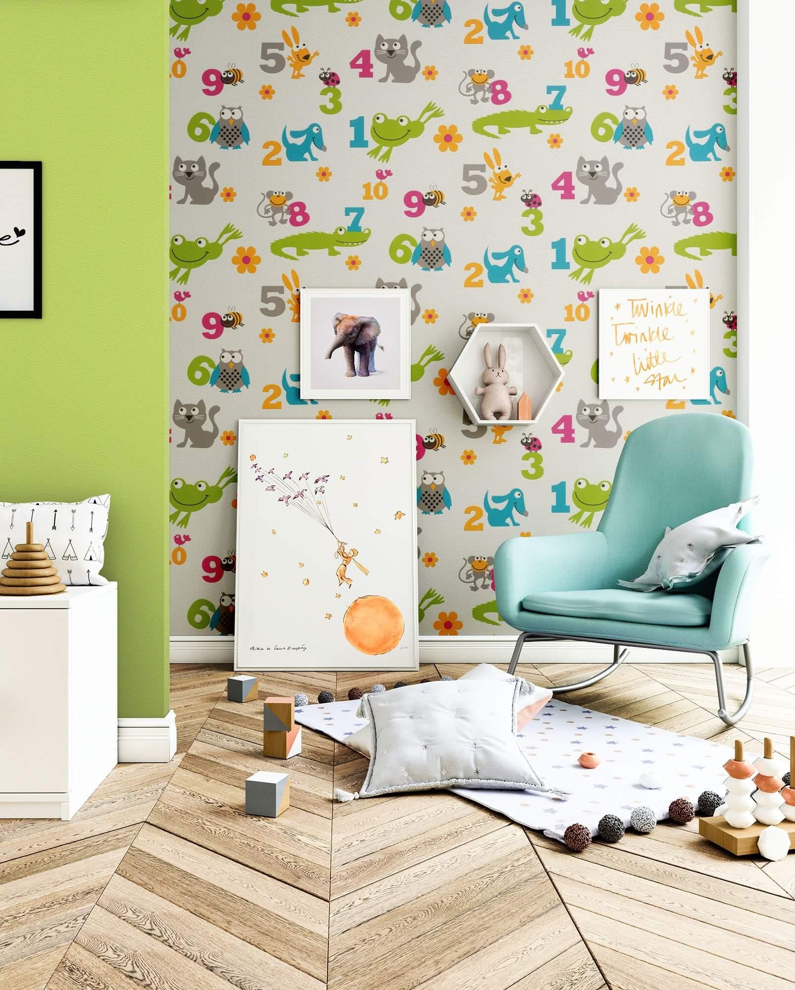 kedeas f r m dchen kinder baby tapeten. Black Bedroom Furniture Sets. Home Design Ideas