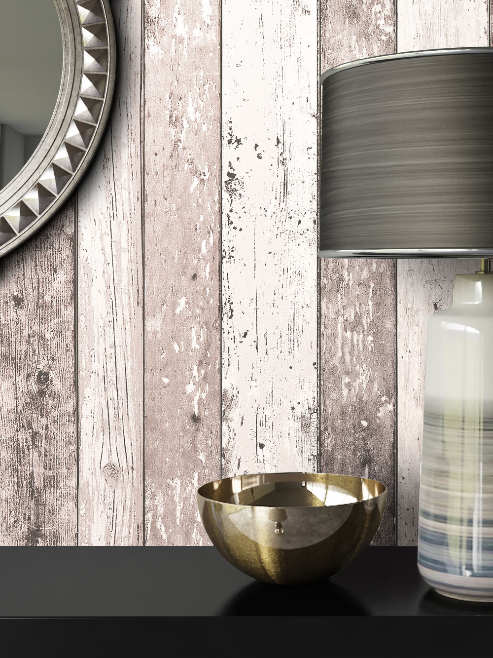 newroom holztapete vliestapete braun holzbalken holz landhaus creme vintage 3d ebay. Black Bedroom Furniture Sets. Home Design Ideas